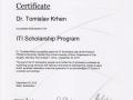 ITI Scholarship Bonn