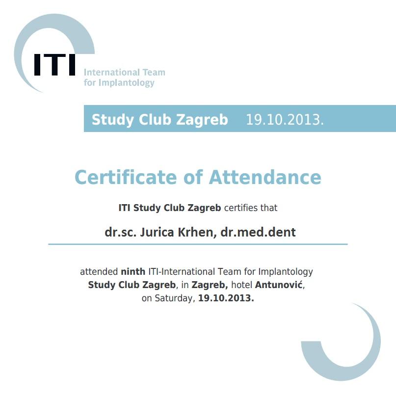 JK ITI Study Club 2013