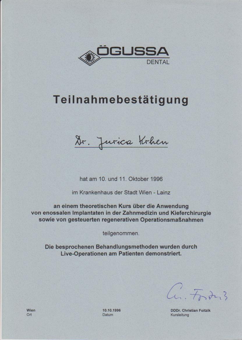 Krankenhaus Wien 1996