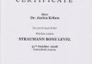 Straumann Bone Level Zertifikat 2008