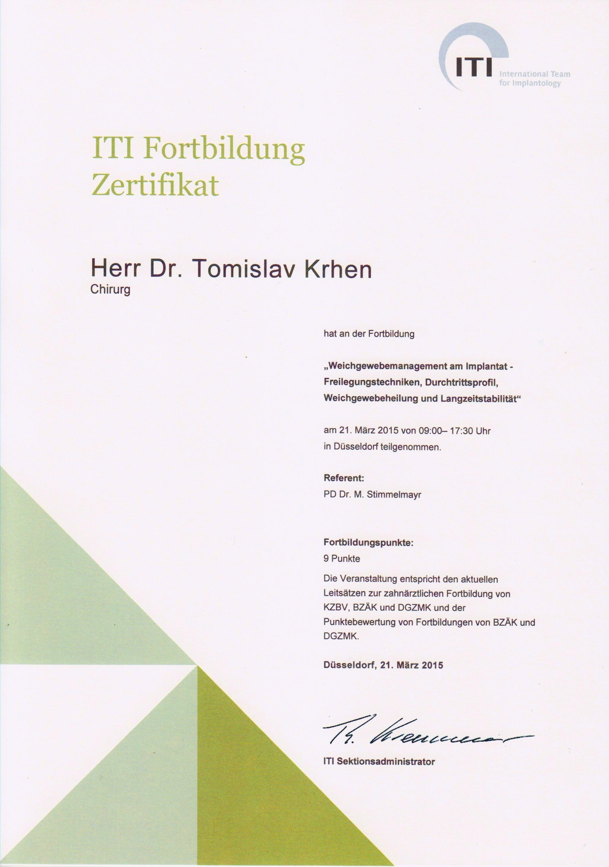 Menagement mekih tkiva - ITI Kurs