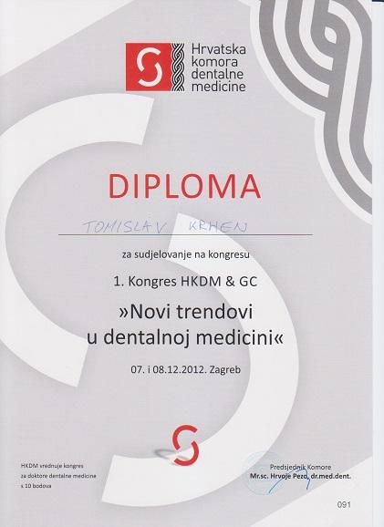 Novi trendovi u dentalnoj medicini 2012